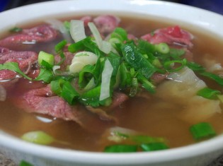 Kuy Tiev Sach Ko (Beef Noodle Soup)
