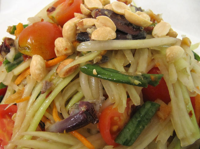Bok Lahong - Spicy Cambodian Salad
