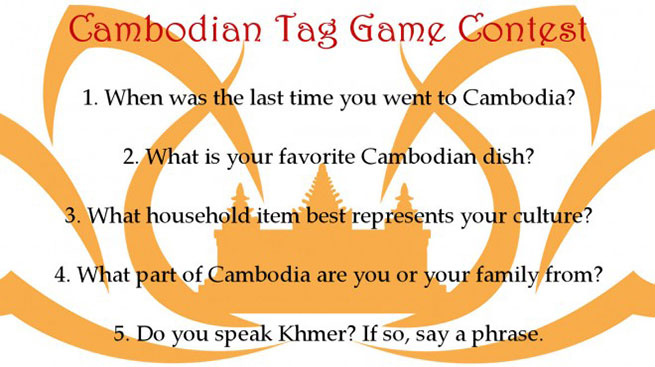 Cambodian Tag Game Contest