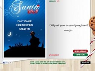 Santa Drop eCard