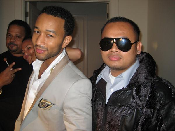 Remy Hou and John Legend