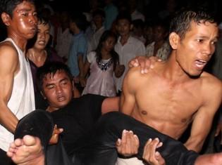 Stampede in Cambodia